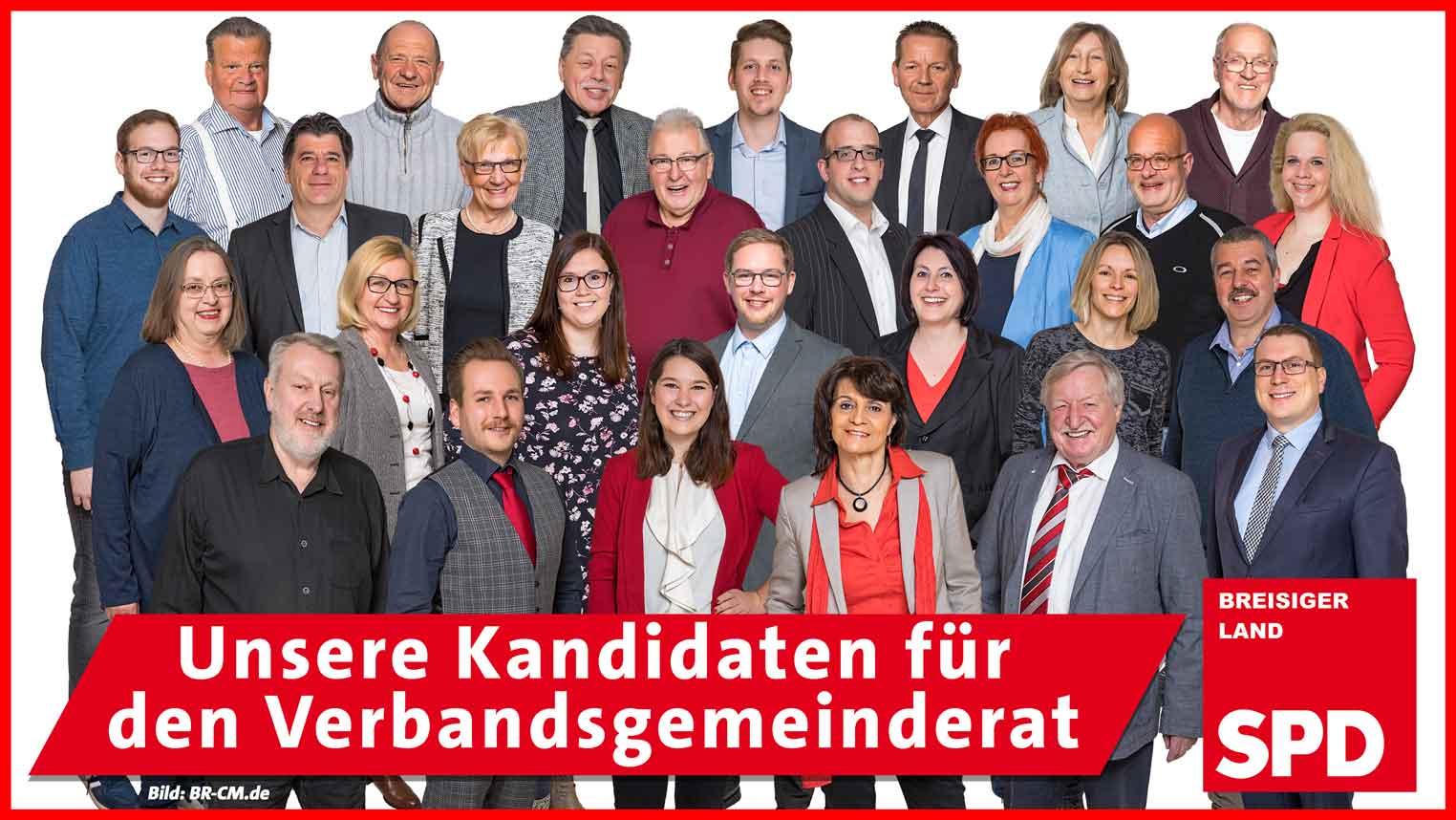Kandidaten Verbandsgemeinderat
